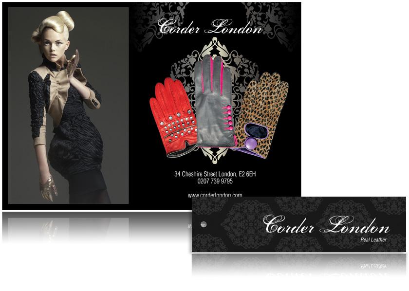 Design of corporate identity Corder London